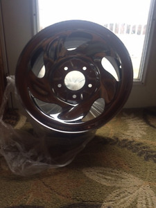 Two Ford F150 Chrome Rims