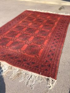 Wool Rug Afganistan...One of a Kind!