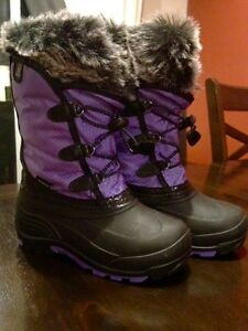 Girls Kamik Winter Boots Size 1 New Without Tags