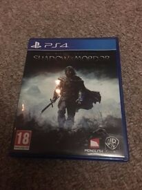 Sony Playstation 4 PS4 game bundle, COD blops3, Uncharted, Witcher 3, Battlefront, Shadow of mordor