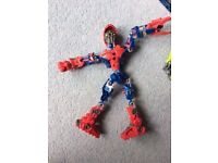 lego bionicle spider man and other lego