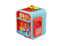 SMART 360 Degree Kitchen 14 piece Pretend Cooking Role Play Washer, Girls, Boys.
