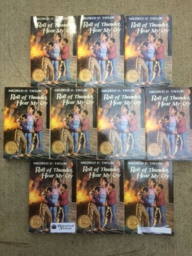 ROLL OF THUNDER HEAR MY CRY class set Taylor Newbery guided reading lot 10 PB