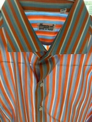 Finamore 1925 Napoli dress shirt 16-41 Made in Italy