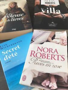 Roman - Nora Roberts et cie 8$ le lot ou 3$ chaque