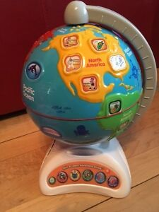 Spin and learn adventure globe (en anglais)