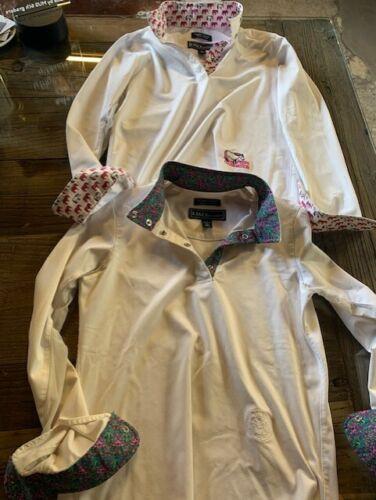 Youth Girls Essex Classics Equestrian Long Sleeve Shirts PEEPS