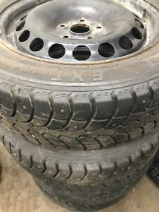 """16"""" VW rims and winter tires"""