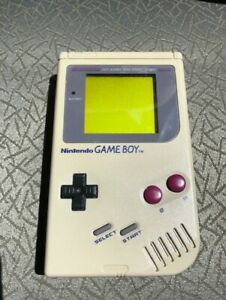 One Nintendo Game Boy DMG-01 Console and One Game Boy Advance