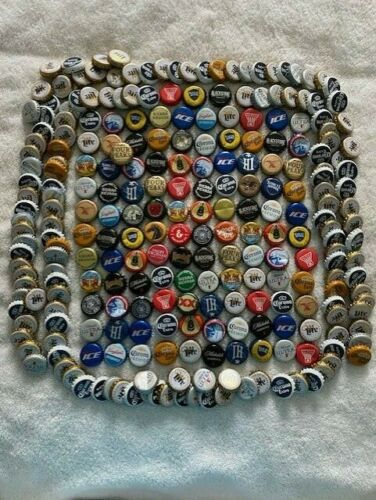 Lot of 250+ PREMIUM Beer Bottle Caps w/Craft Breweries *Great Mix!*See Pics