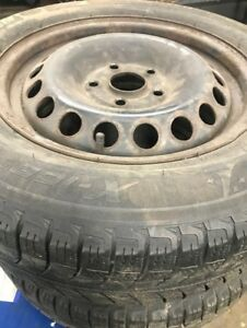 used 195/65/15 winter tires with VW rims