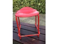 Red Childens Stools