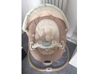 Graco sweetpeace swing - excellent condition