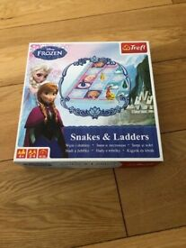 Disney Frozen Snakes & Ladders