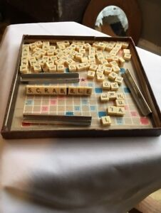 Vintage/ Antique Scrabble Game