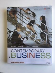 Contemporary Business (Second Canadian Edition)