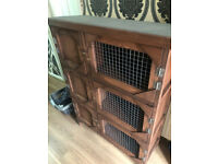 brand new 3ft triple rabbit/guinea pig hutch(made to order)