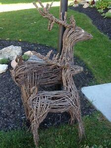 Outdoor decorative deer
