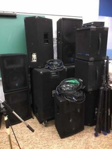 Sound Equipment for Sale by Tender