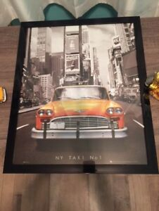 Taxi Framed Poster for sale!
