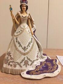 Queen Elizabeth II Figurine