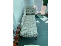 chaise long and chairs