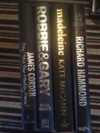 3 hardback non-fiction books