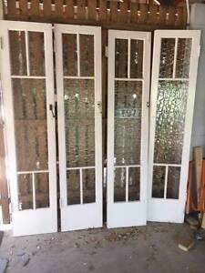 Pair of leadlight doors (2 matching pairs available) Ashgrove Brisbane North West Preview