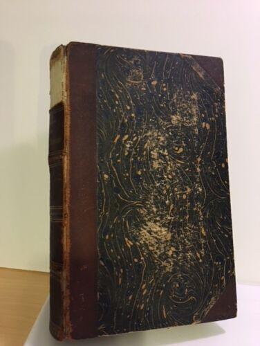 Antique MEDICAL BOOK 1889 Original GERMAN TEXT  Edition PATHOGIE und THERAPIE