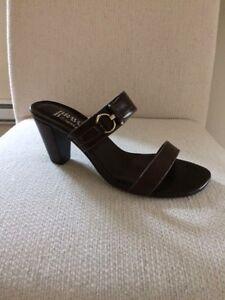 Sandales Browns en cuir, pointure 8