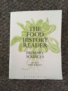 The Food History Reader: Primary Sources