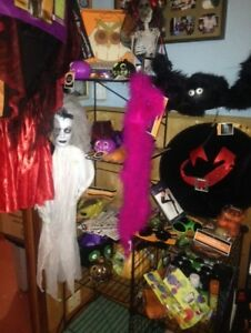Lots of Halloween stuff