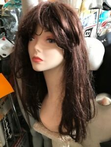 Mannequin heads with human hair and long necks,wigs NEW&USED