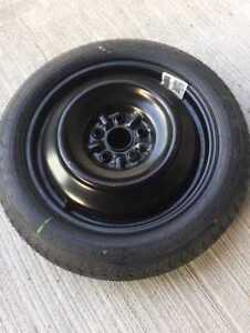 Donut spare tire for Toyota Camry