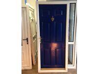 Blue/White Composite Door for Sale in Birmingham