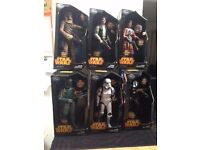 Star Wars Disney Store Exclusive Talking Figures