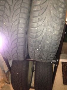 chev Impala winter tires and rims 205/60 R 16
