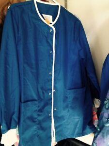 "Blue Scrub Jacket ""new"""
