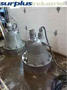 4 pompes submersible gorman 50 hp