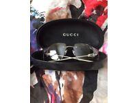 Gucci Rimless Womens Sunglasses, good condition