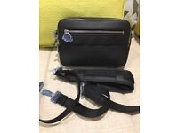 Dior Safari Messenger Bag Black leather