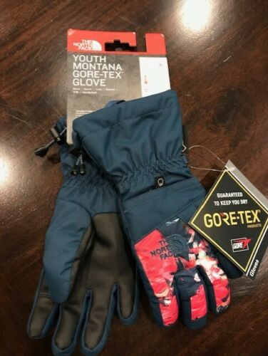 The North Face Girls Youth Montana Gore-Tex Ski/Snow Gloves NWT