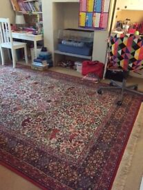 TRADITIONAL VINTAGE WOOL 300 x 200 ORIENTAL CARPET
