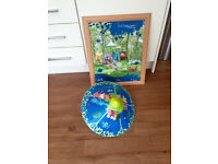in the night garden light shade and picture childrens excellent condition