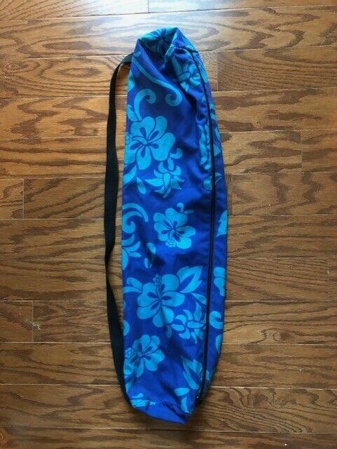 Lightweight Full-Zip Yoga Mat Bag w/Shoulder Strap Womens