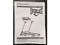 For sale EVERLAST Elite EV7000 treadmill