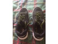 Black Trainers, size 7