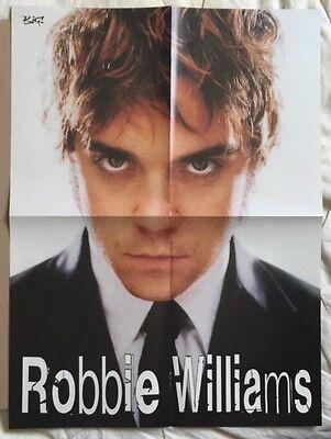 ROBBIE WILLIAMS / TAKE THAT Original Vintage Big! Magazine Poster