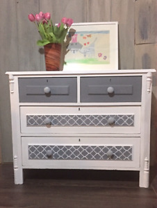 Vintage antique dresser