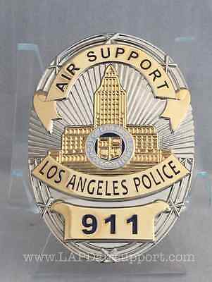 LAPD Badge Air Support Money Clip Los Angeles Police
